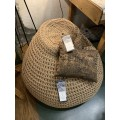 "Beanbag crocheted - Small - Medium - Large - 6mm ""Pear"" - Earth"