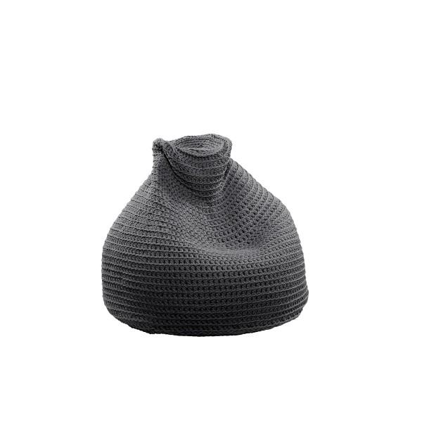 "Beanbag crocheted - Small - Medium - Large - 6mm ""Pear"" - Lava"
