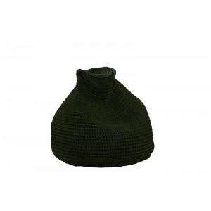 "Beanbag crocheted - Small - Medium - Large - 6mm ""Pear"" - Olive"