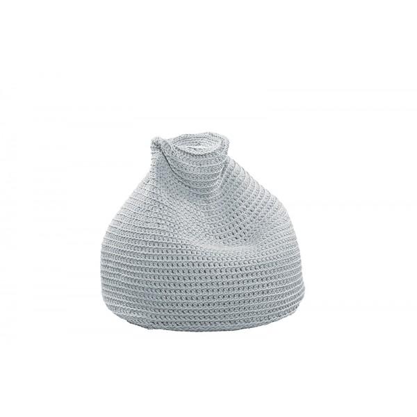 "Beanbag crocheted - Small - Medium - Large - 6mm ""Pear"" - Water"