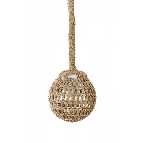 "Hanging lamp - D20 / D25 / D30 / D40 - 3mm ""Nest"" - Earth"