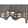 "Parasol round classic crocheted - D210 / D260 - 6mm ""Braid"" - Sand"